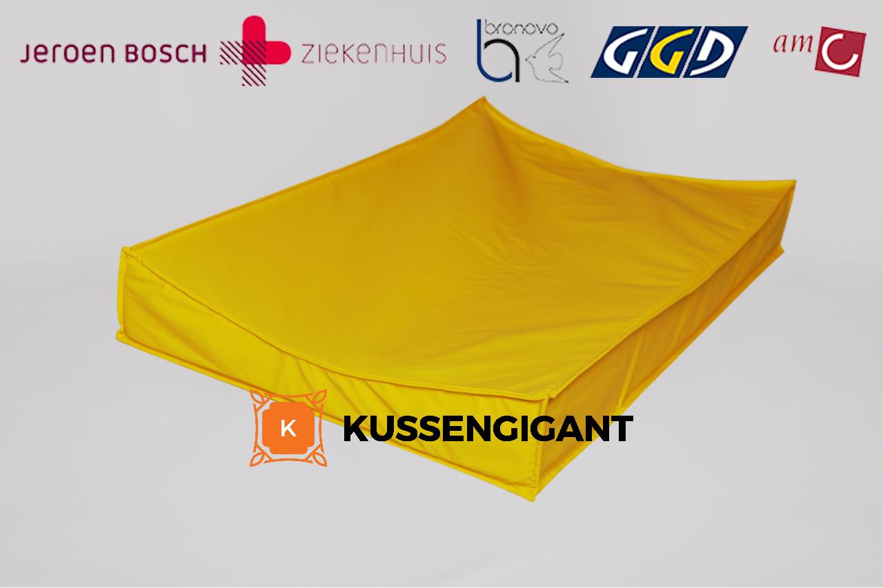 Aankleedkussen - Waskussen Nylon Stretch Anti-Allergeen Materiaal -  XL & XXL