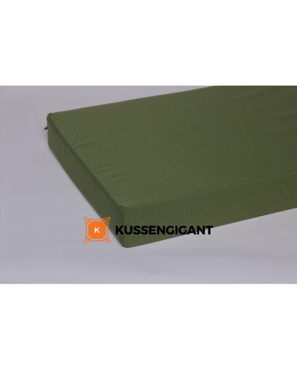 Outdoorstof kussen 60x168x5 Groen