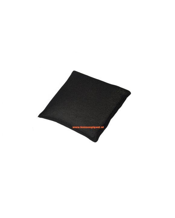 Badkussen zwart 30x30