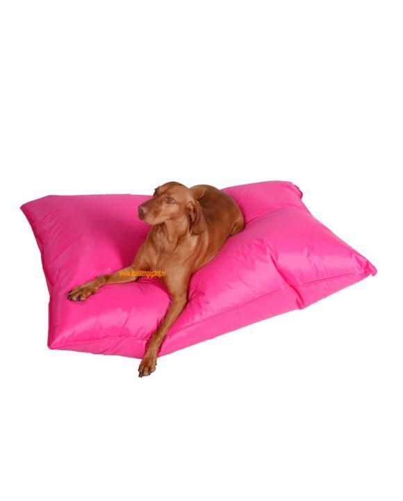 Lazy Dogbag fuchsia met binnenkussen