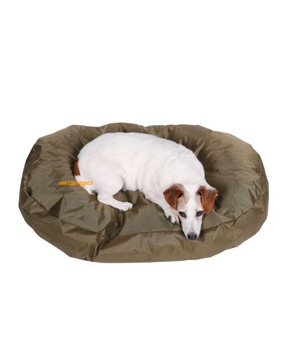 Hondenkussen Nylon 90x55 olijf