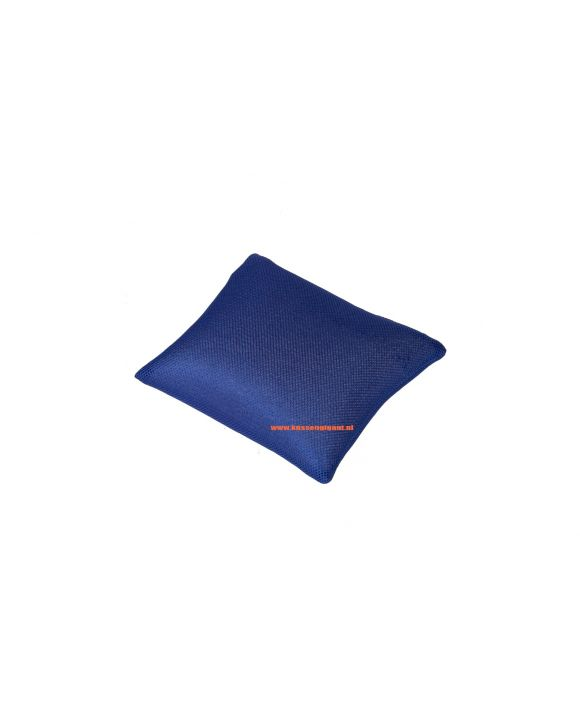 Badkussen marineblauw 30x30
