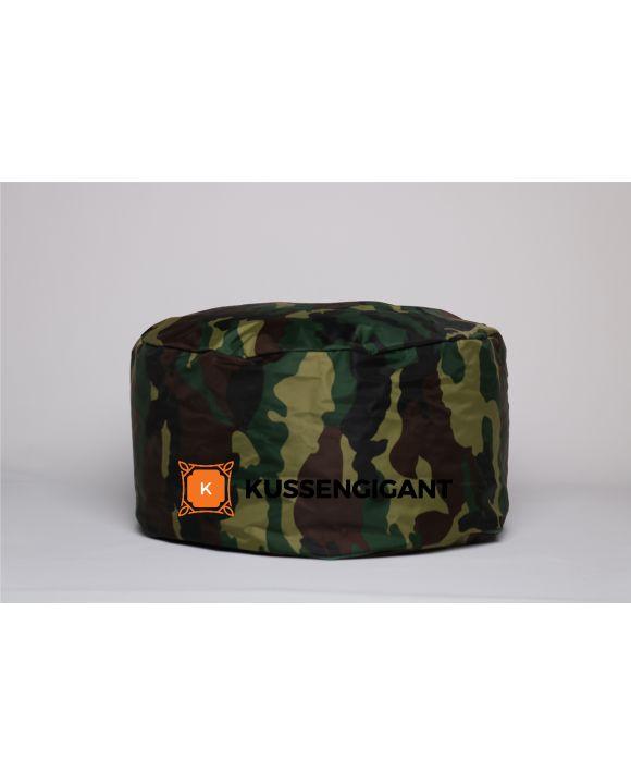 Kinderpoef Camouflage 50x22