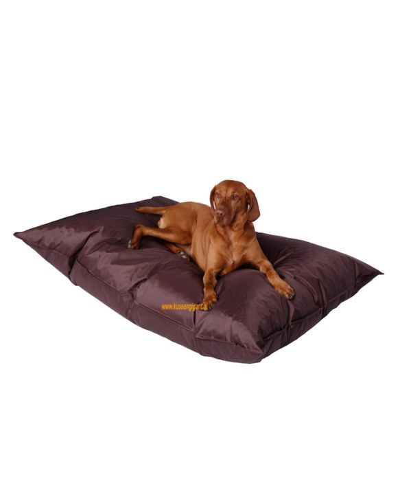 Lazy Dogbag donkerbruin met binnenkussen
