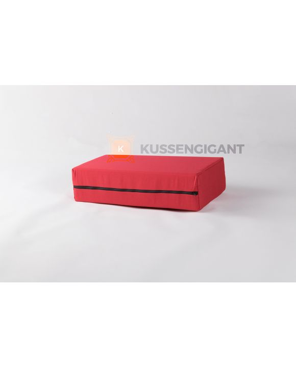 56x25x12 Kussen Outdoorstof Rood