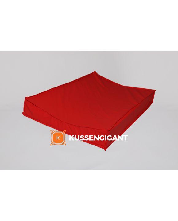 Aankleedkussen Nylon Stretch Rood - anti-allergeen materiaal